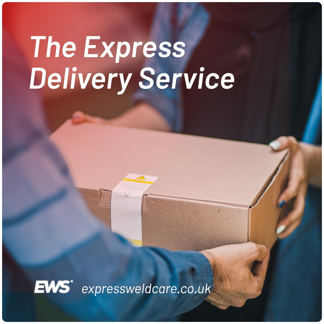 the express delivery service EWS